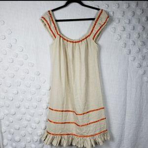 Vintage Betsey Johnson New York Boho Sack Dress 2